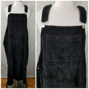 Denim Co Plus size 3X 22/24 Corduroy Overall Dress